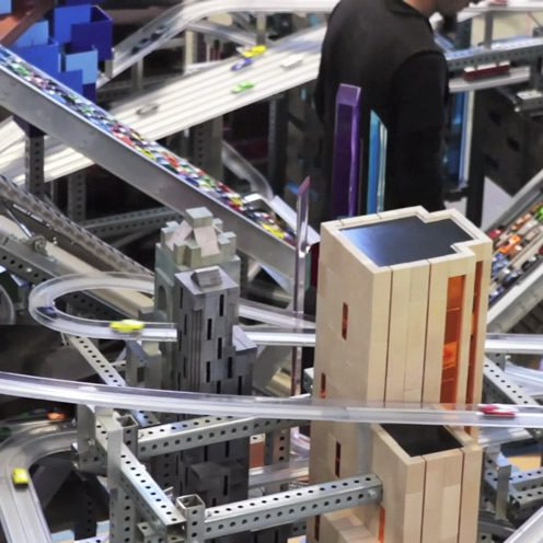 Metropolis II, Chris Burden