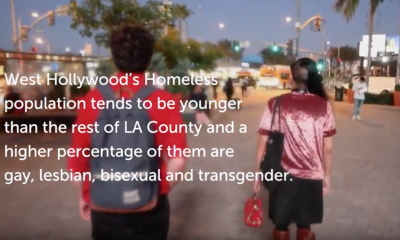 Homeless in West Hollywood