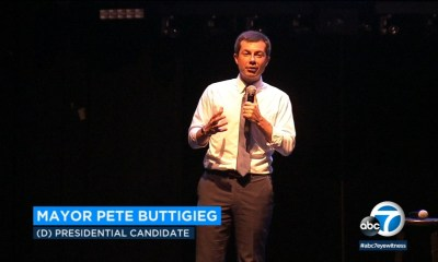 Supporters of Mayor Pete Buttigieg turn out for Hollywood fundraiser