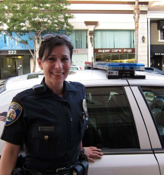 Beverly Hills Police Officer