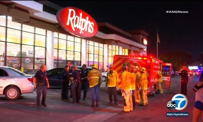 2 victims found stabbed inside Koreatown Ralphs, police say