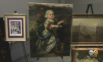 LAPD Recovers Treasure Trove Of Art Stolen From Homes During 1990s