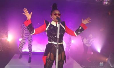 Janelle Monáe Performs at Ian Schrager's West Hollywood Edition Opening
