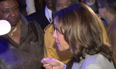 Kamala Harris makes appearance in West Hollywood ahead of town hall on LGBTQ issues