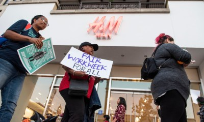 H&M employees protest at Pasadena store, alleging workplace intimidation