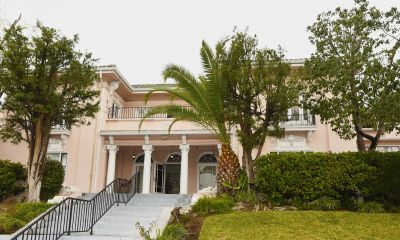 Bridge housing for families opens in old Hollywood mansion