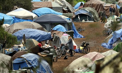 Californians surveyed: Rising concern about homelessness, a split on Newsom, and no home-state edge for Kamala Harris