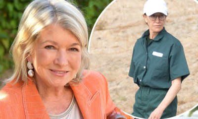Martha Stewart says Felicity Huffman looks 'pretty schlumpy' in prison jumpsuit