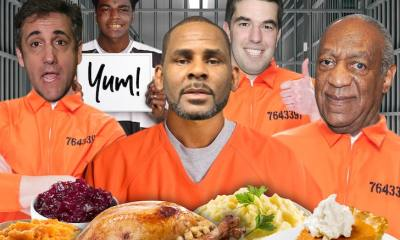 Celeb Prisoners' Thanksgiving Meals Revealed