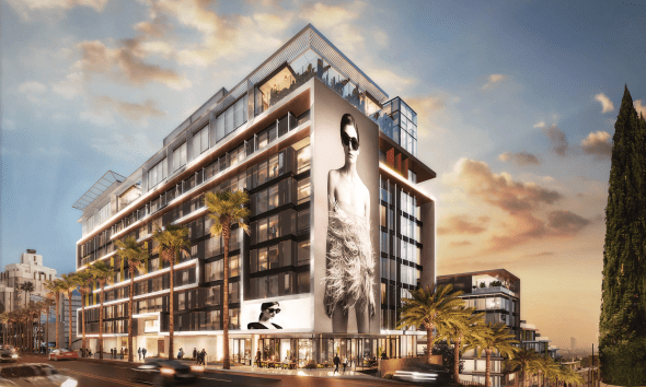 Pendry on the Sunset Strip