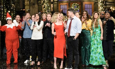 Scarlett Johansson calls Colin Jost 'the love of my life' on 'SNL'