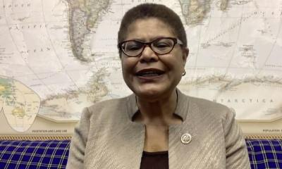 Rep. Karen Bass Says House Open to Impeaching Trump Again if He Wins 2020