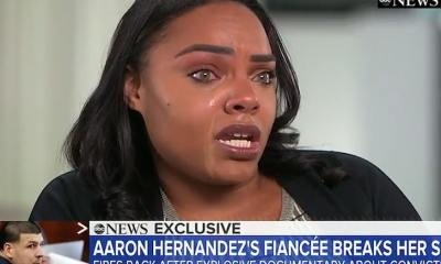 Aaron Hernandez's Fiancee Wishes He Would Have Told Her He Was Gay