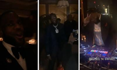LeBron James Celebrates 35th Birthday at Sunset Tower