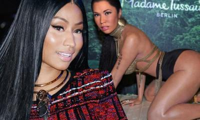 Nicki Minaj Approved Wax Figure Everyone's Roasting ... 4 Years Ago