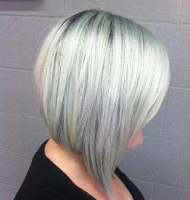 SILVER HAIR TREND Looks More Like GRAY WEHOTFLASH