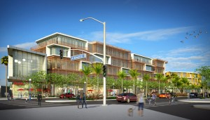 The Melrose Triangle's Boulevard building. (architect Studio One Eleven)