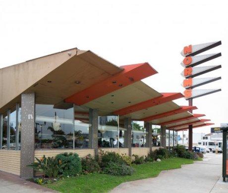 Norm's Restaurant on La Cienega Boulevard