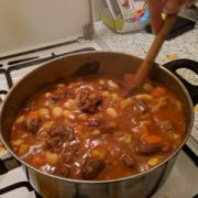 Cooking Goulash in a Hungarian AirBNB Kitchen