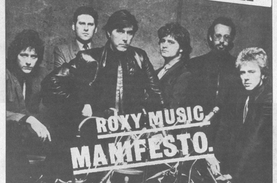 Roxy Music's Manifesto: Far superior to the Men's Rights version