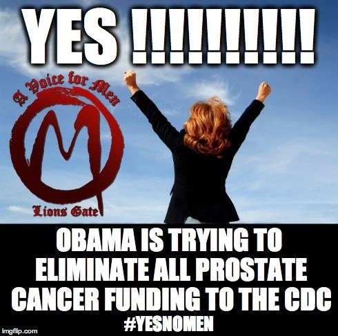 eliminateprostatefunding