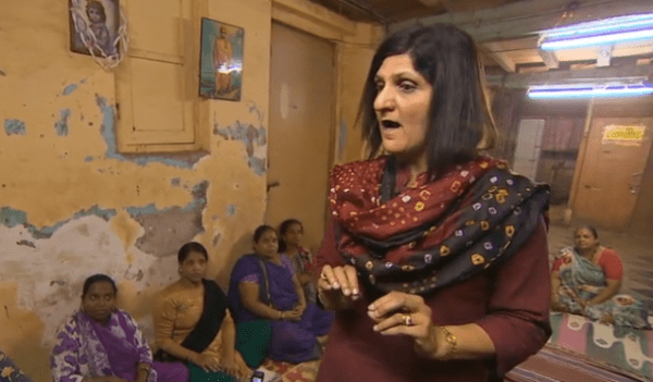 Rape survivor advocate Nayreen Daruwalla speaks to Indian women
