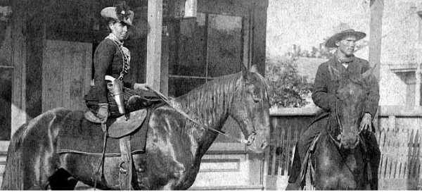 Belle Starr: Proof that women run the world?
