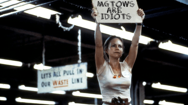 Sally Field protests