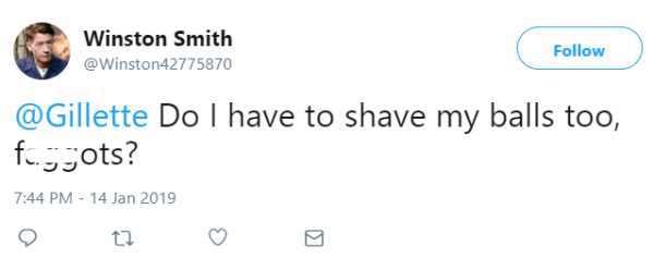 Do I have to shave my balls too, faggots?