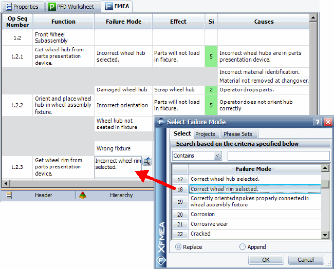 How Can I Use Xfmea Rcm To Share Information Between The