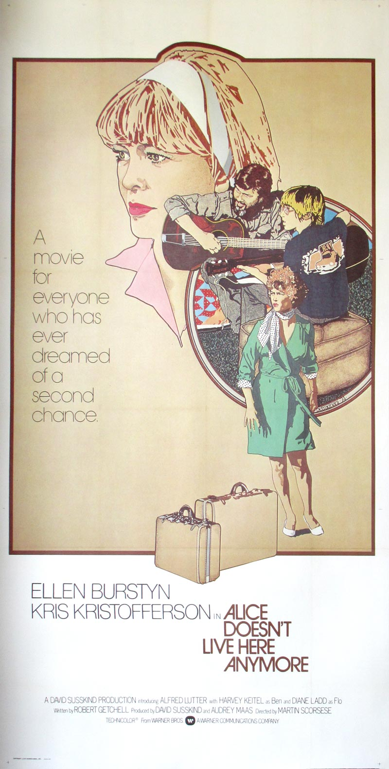 """/""""Alice Doesn/'t Live Here Anymore/"""" ...Classic Movie Poster Various Sizes"""