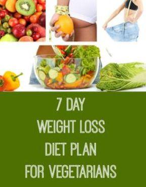 weight loss diet for vegetarian