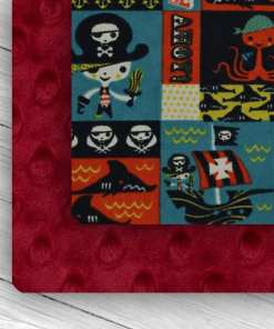 Custom Weighted Blanket Crimson/Pirates Combo