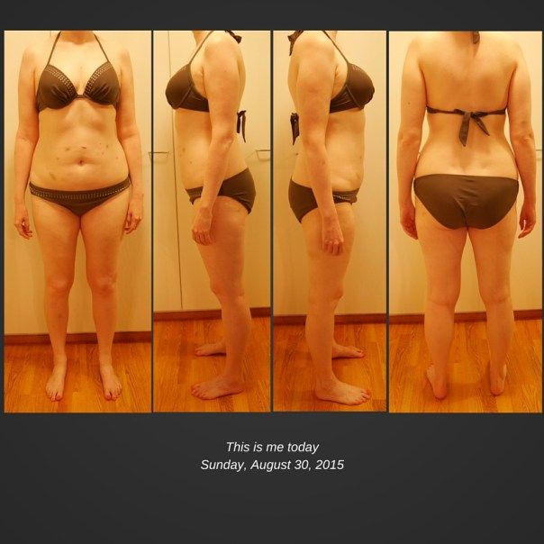 Beach body project before pictures