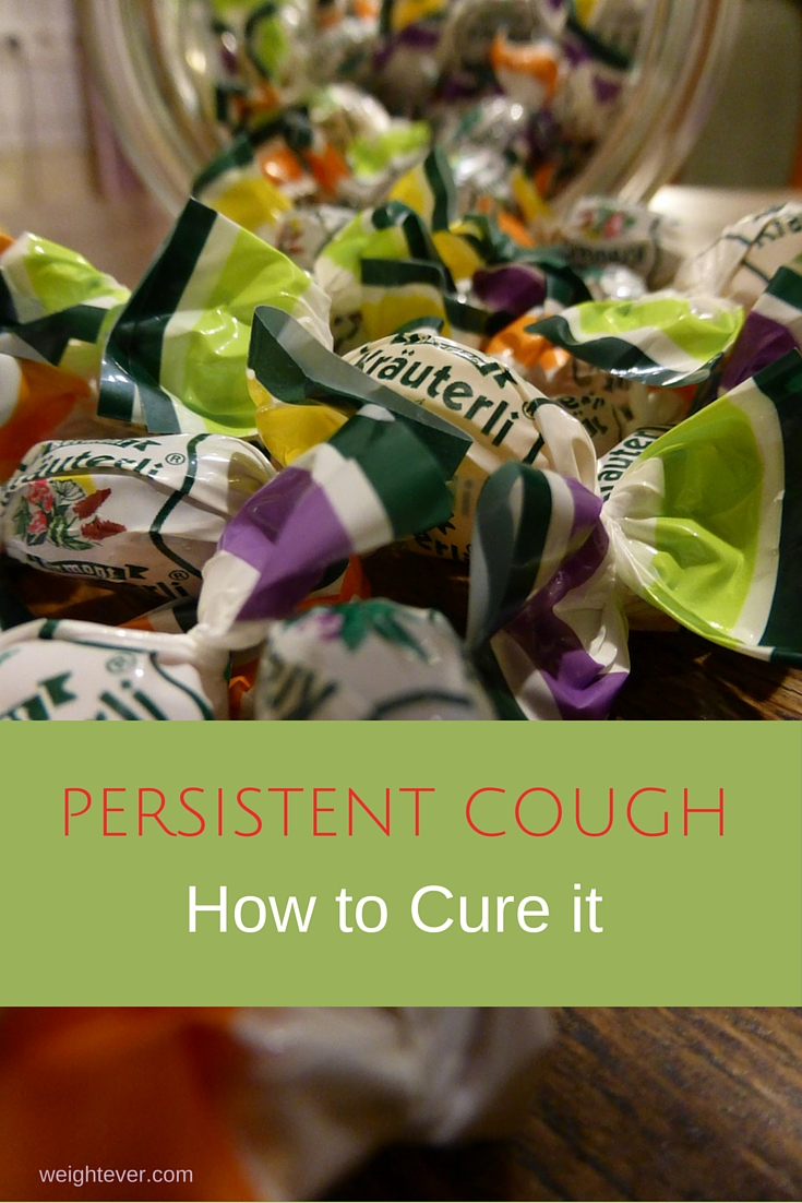 Persistent cough how to cure it