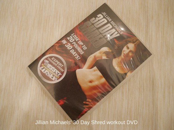 Jillian Michaels' 30 Day Shred workout DVD