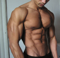 Muscle building foods man