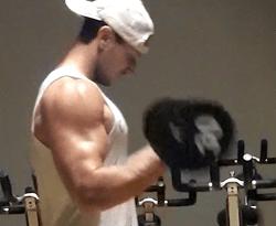 troy adashun bicep blast workout
