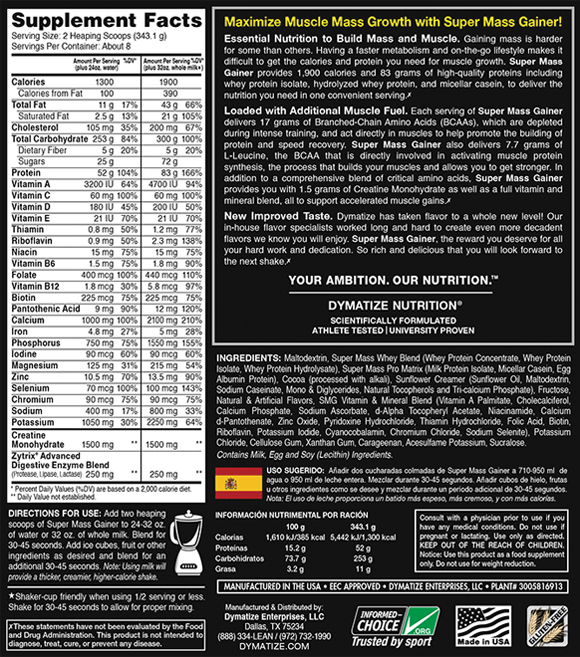 dymatize-super-mass-gainer-ingredients-nutrition-facts-label