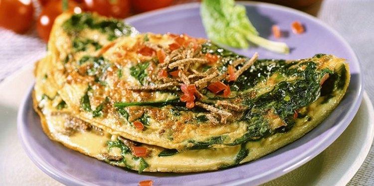healthy-chicken-omelet-dinner