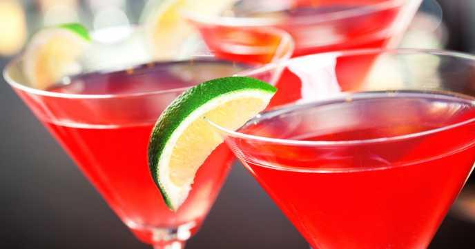 wedding reception drinks