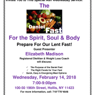 The Daniel Fast for the Spirit, Soul & Body