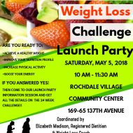 Our Village Weight Loss Challenge Launch Party