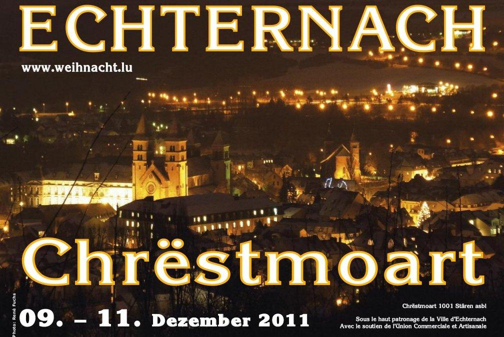 De Programm vum Eechternoacher Chrëstmoart 2011