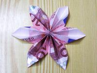 Origami Faltanleitung Weihnachts Sterne