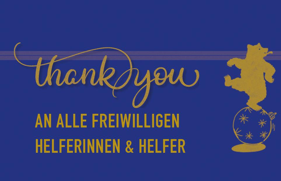 Danke allen freiwilligen Helferinnen & Helfern!