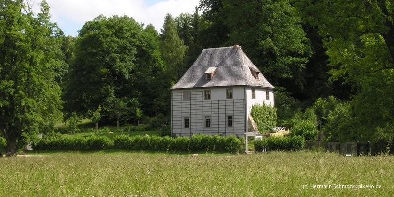 goethes gartenhaus sehensw rdigkeiten weimar eve tourist information. Black Bedroom Furniture Sets. Home Design Ideas