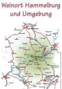 Karte Hammelburg u. Umgebung 448x640