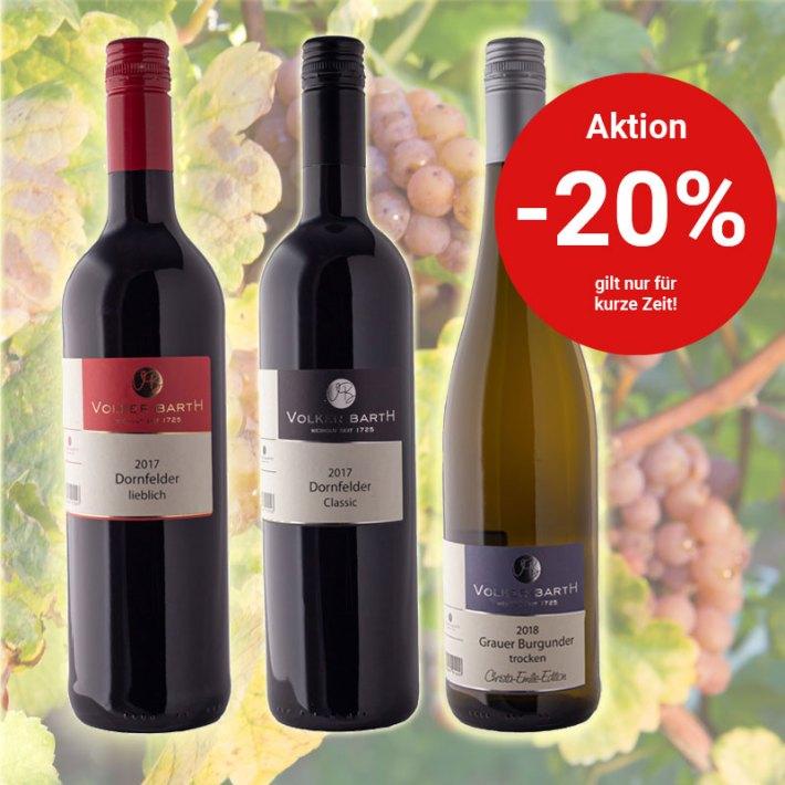 Reduzierte Weine - Wein Angebote (Bild: Weingut Barth)