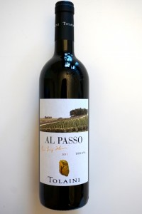 "Mitgenommen von Tolaini 2011 ""Al Passo"" Toscana iGT"